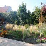 jardin fleuri au relais des vignes à Kintzheim