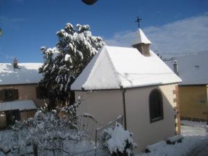 kintzheim sous la neige